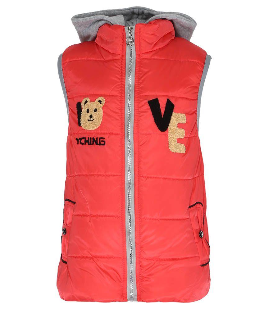 Sakhi Sang PeachPuff Sleeveless Jacket