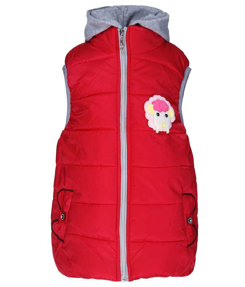 Sakhi Sang Red Sleeveless Jacket