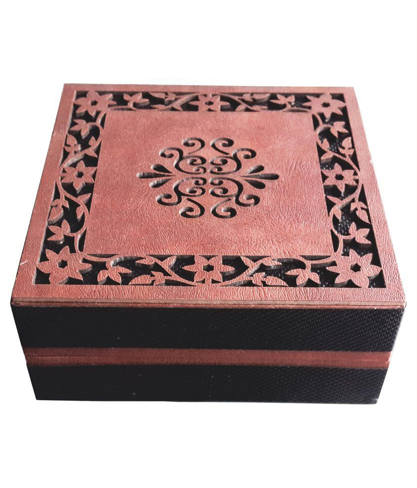 AIW Wooden Brown Design Bangle Box