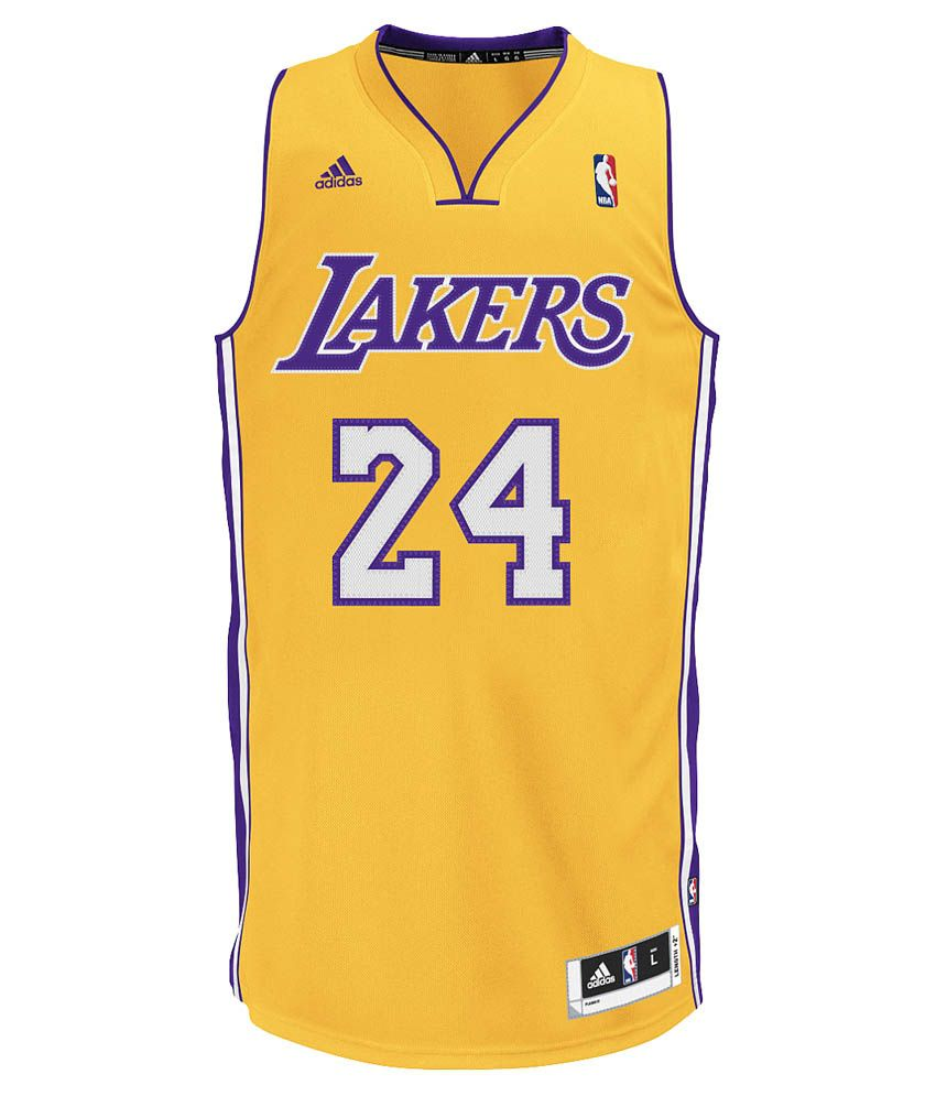 Adidas Lakers Basketball Jersey  Buy Online at Best Price on Snapdeal 9a86c8935