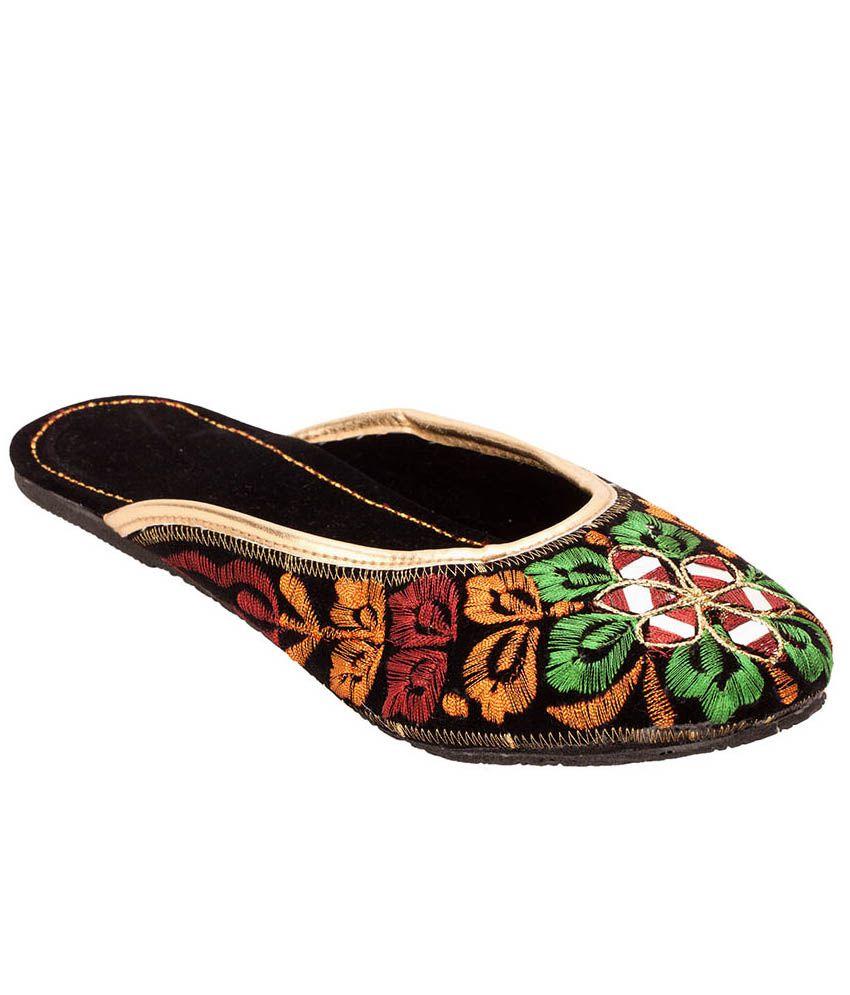 Footrendz Green Shoe