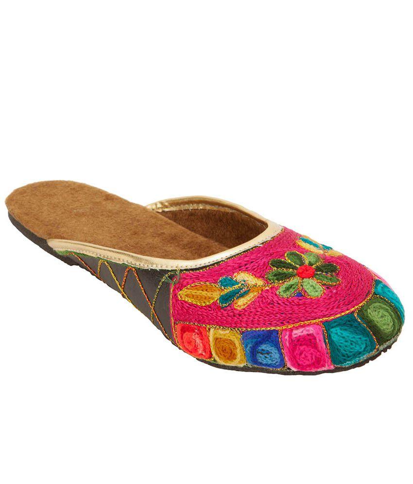 Footrendz Maroon Shoe