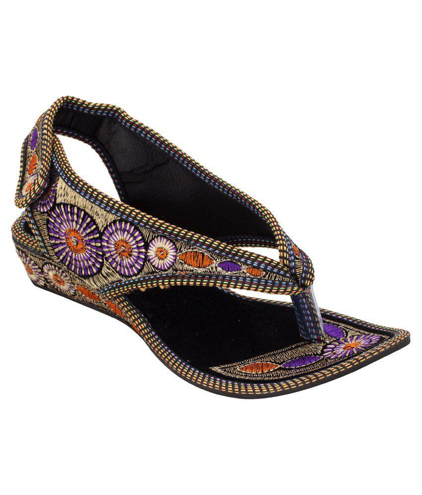 Footrendz Purple Flats