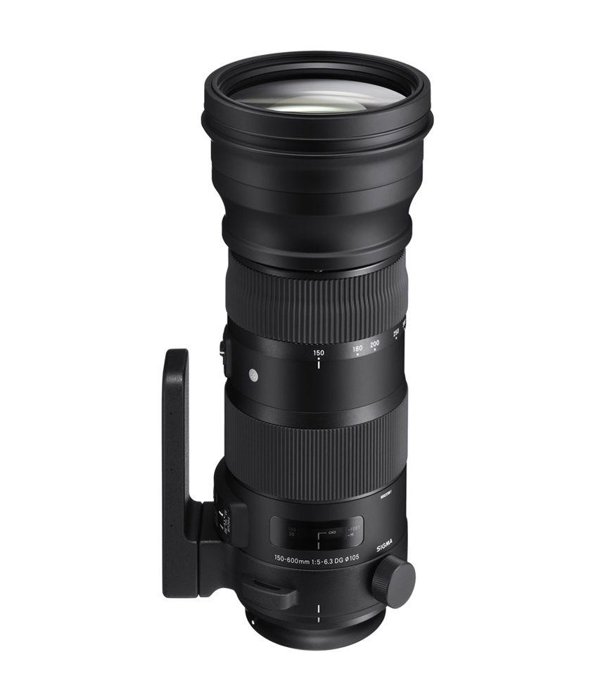 Sigma 150-600mm f/5-6.3 DG OS HSM Sports lens for Nikon Cameras