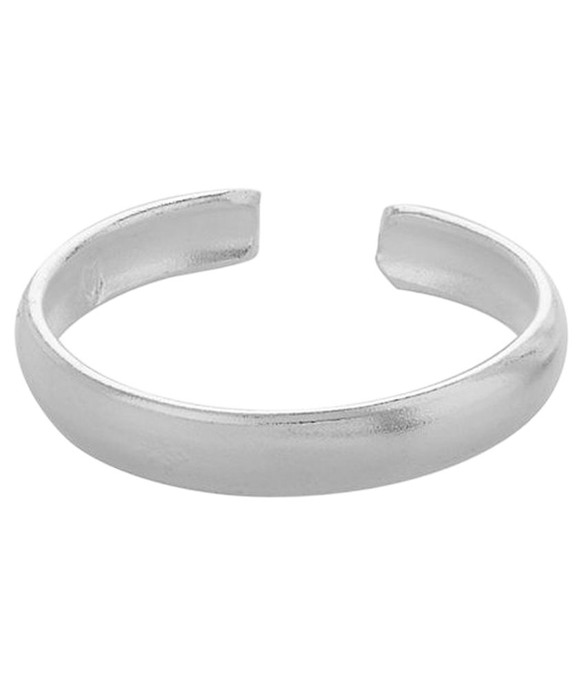 Adornz Silver Toe-ring - Set Of 11