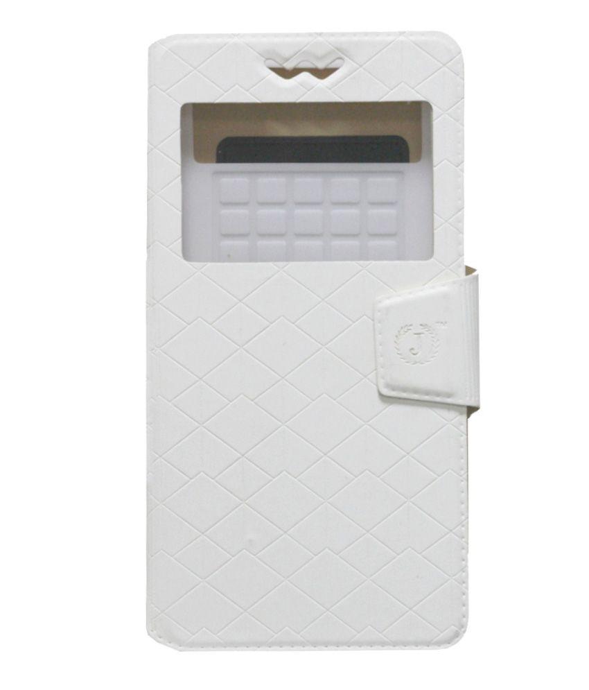 Jo Jo Flip Cover For Samsung Galaxy S III Neo Plus - White