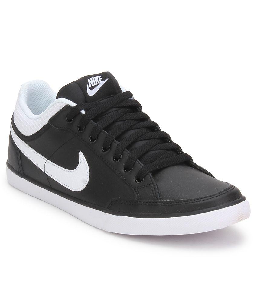 La forma Persuasivo blusa  Nike Capri Iii Low Lthr Black Casual Shoes - Buy Nike Capri Iii Low Lthr  Black Casual Shoes Online at Best Prices in India on Snapdeal