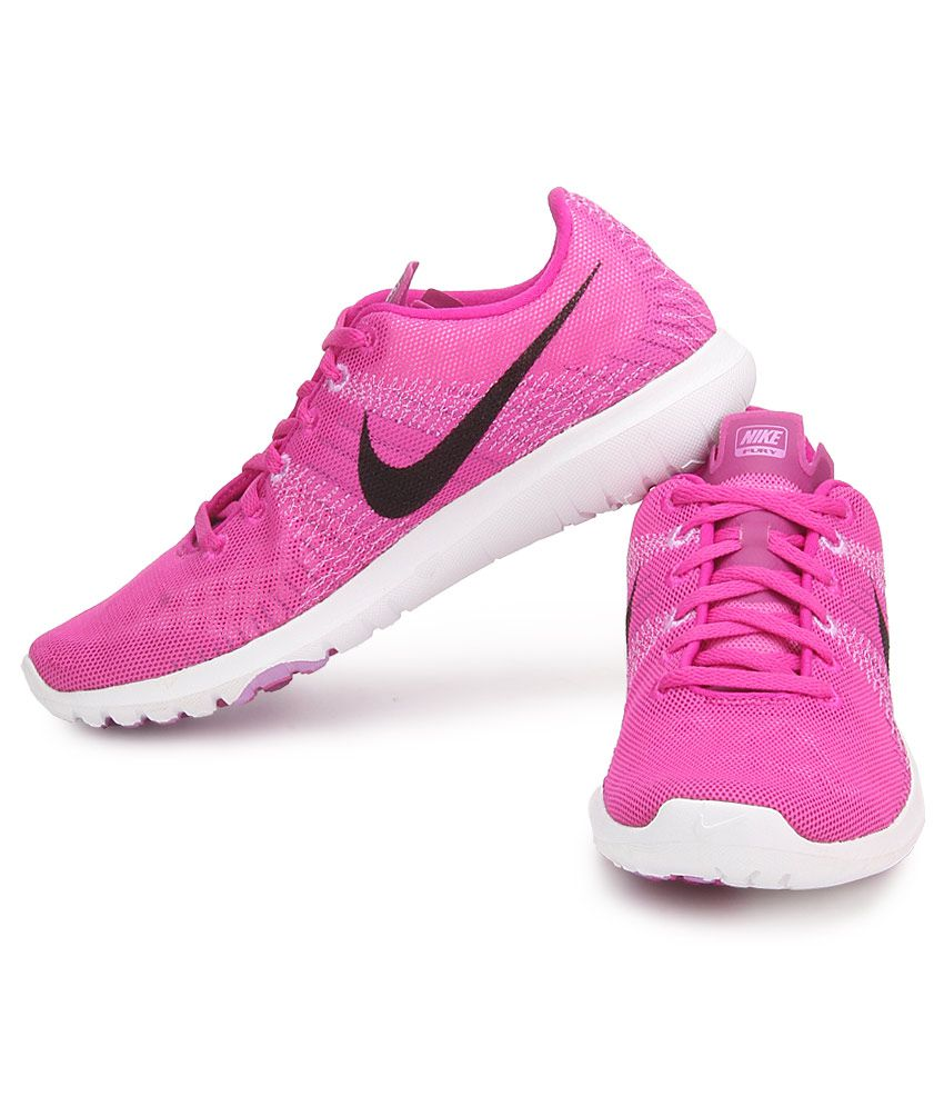 cb120db5d6cd5 Nike Flex Fury Pink Sports Shoes Price in India- Buy Nike Flex Fury ...