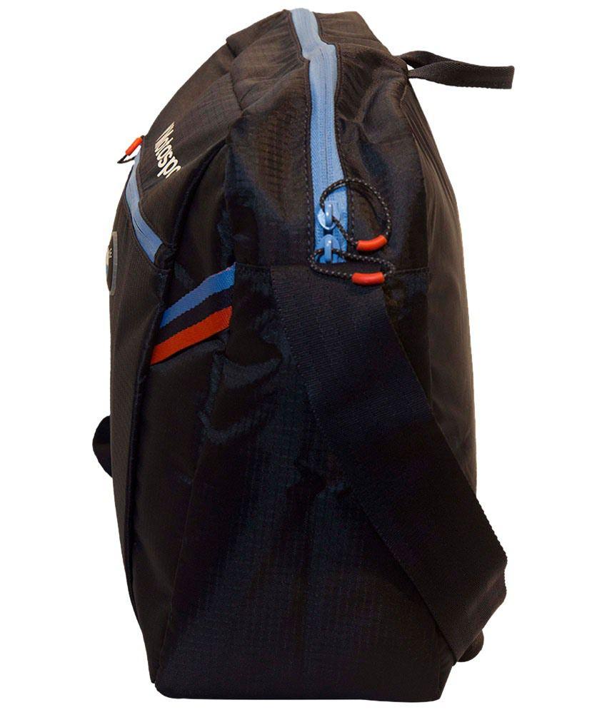 7890da5d57c3 Puma Black   Blue BMW Motorsport Messenger Bag - Buy Puma Black ...
