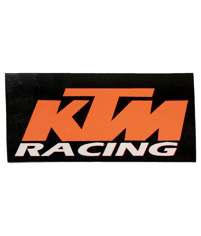 Bliss junkies multicolour ktm racing decal sticker for bike buy bliss junkies multicolour ktm racing decal sticker for bike online at low price in india on