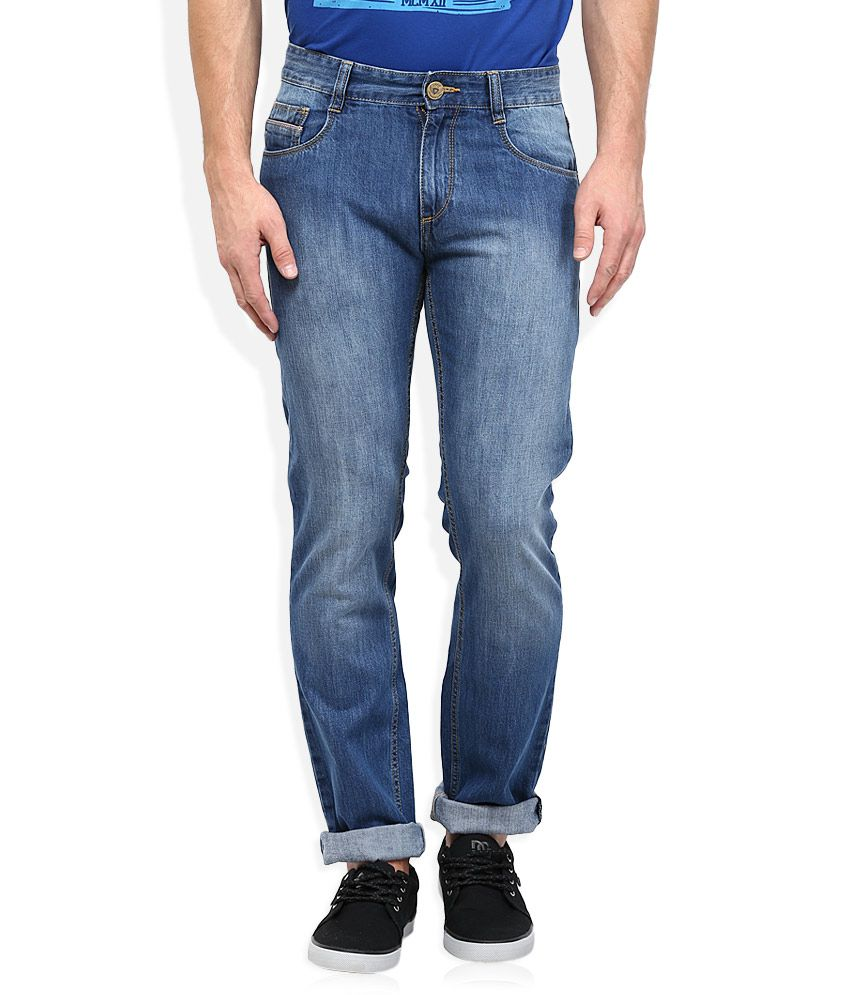 John Players Blue Slim Fit Jeans