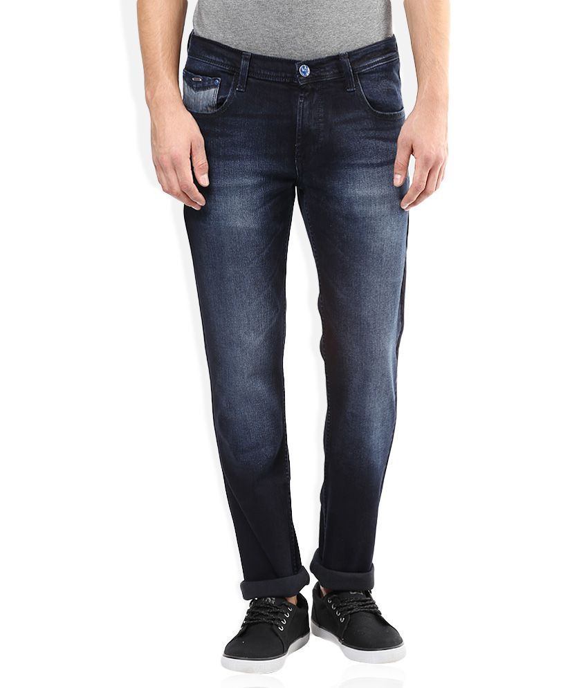 Lee Blue Low Bruce Skinny Fit Jeans