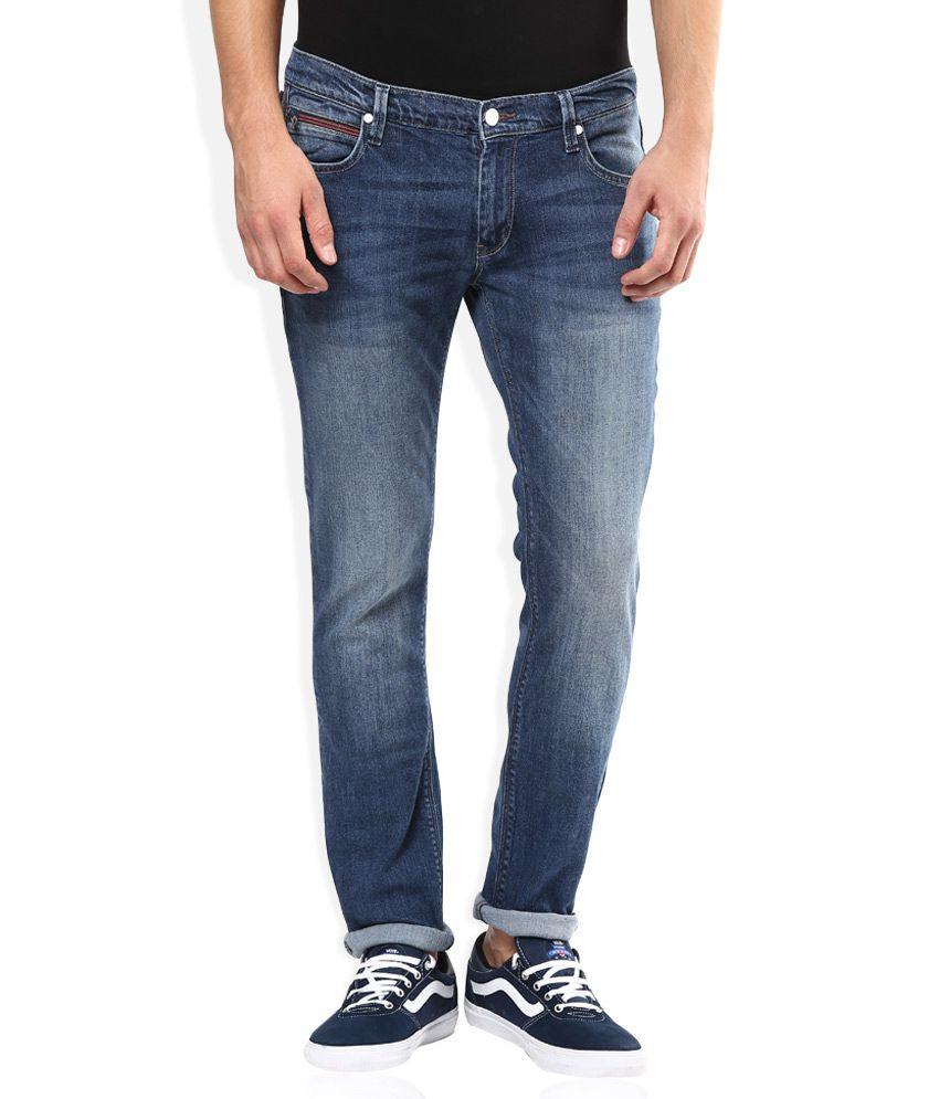 195ee8798c7 Lee Blue Light Wash Slim Fit Jeans - Buy Lee Blue Light Wash Slim ...