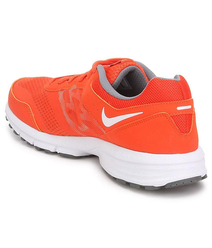 ... Nike Air Relentless 4 Msl Orange Sport Shoes ...