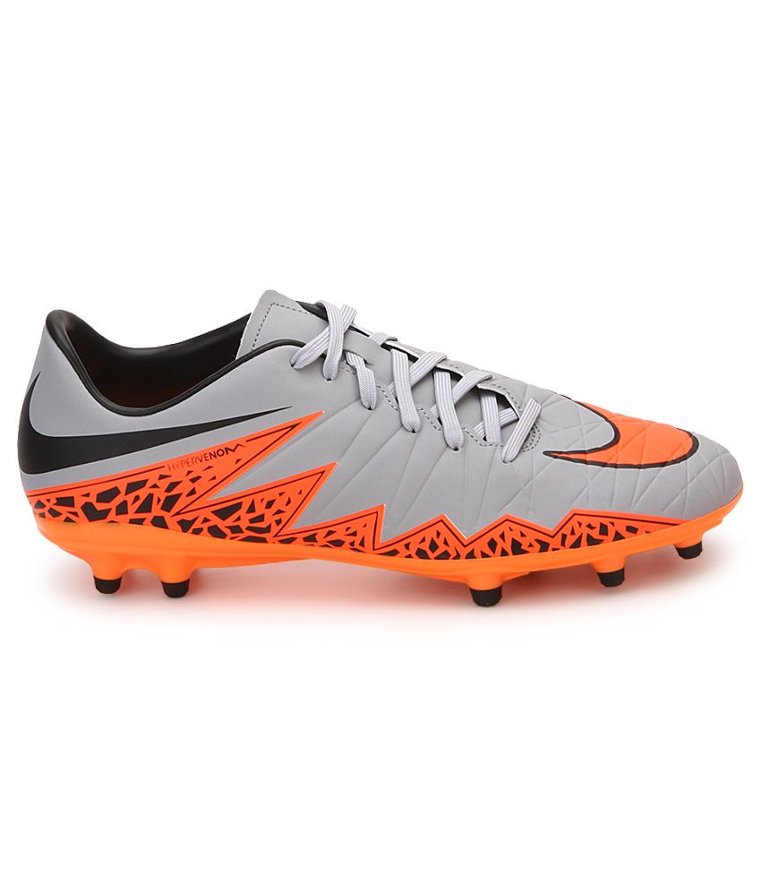 ... Nike Hypervenom Phelon Ii Fg Gray Sport Shoes ...