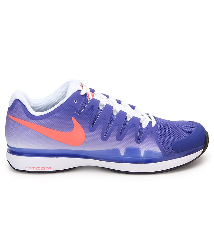 9856cc93f767 Nike Zoom Vapor 9.5 Tour Blue Sport Shoes - Buy Nike Zoom Vapor 9.5 ...