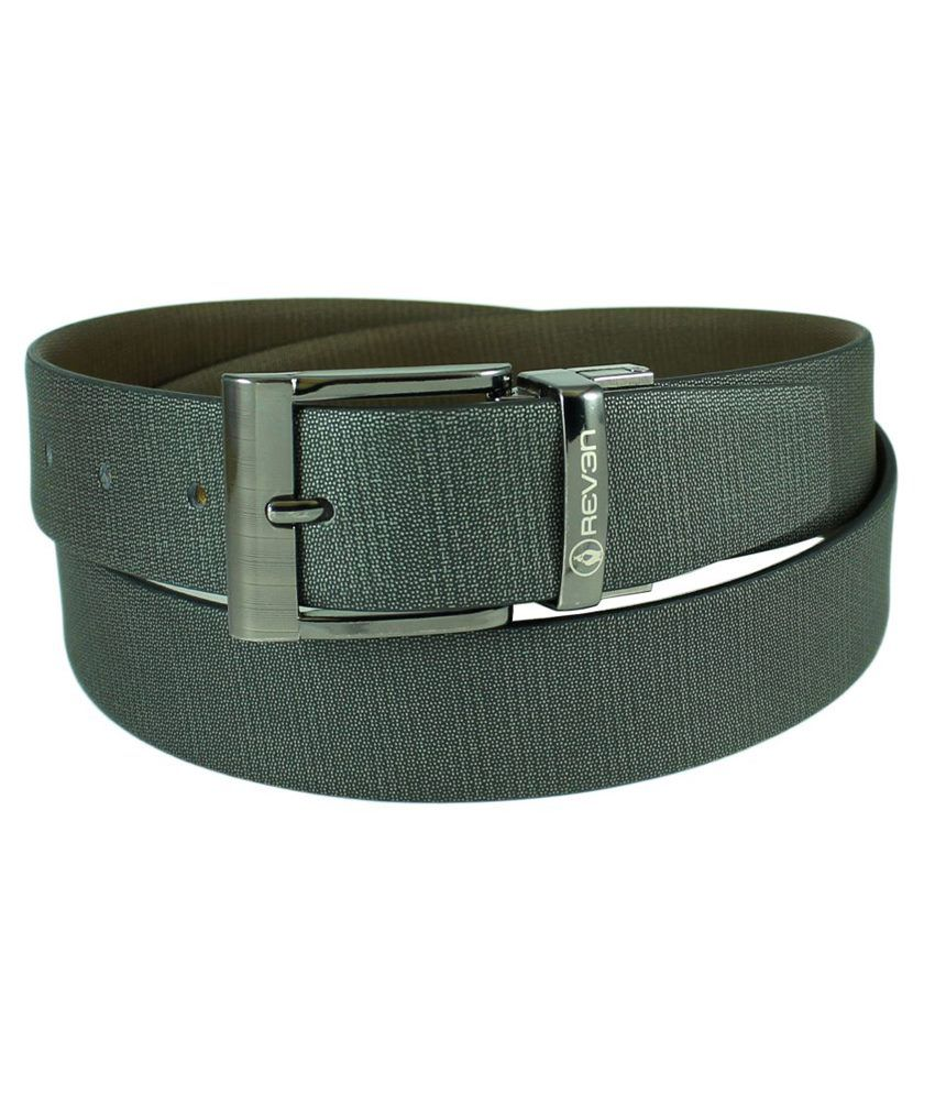 Reven Banner Reversible Genuine Leather Belt  Kanpur Made