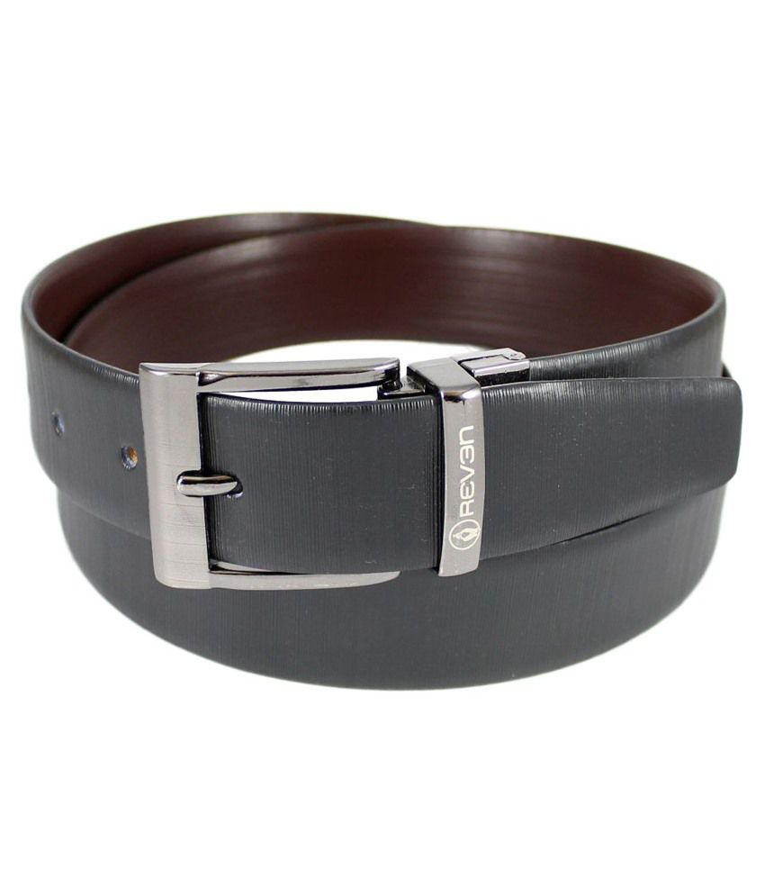 Reven Vero Reversible Genuine Leather Belt  Kanpur Made