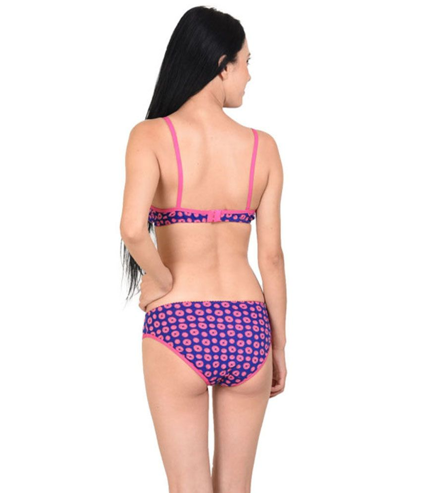 694acba00e5ad Buy Simoni Blue Bra   Panty Sets Online at Best Prices in India ...