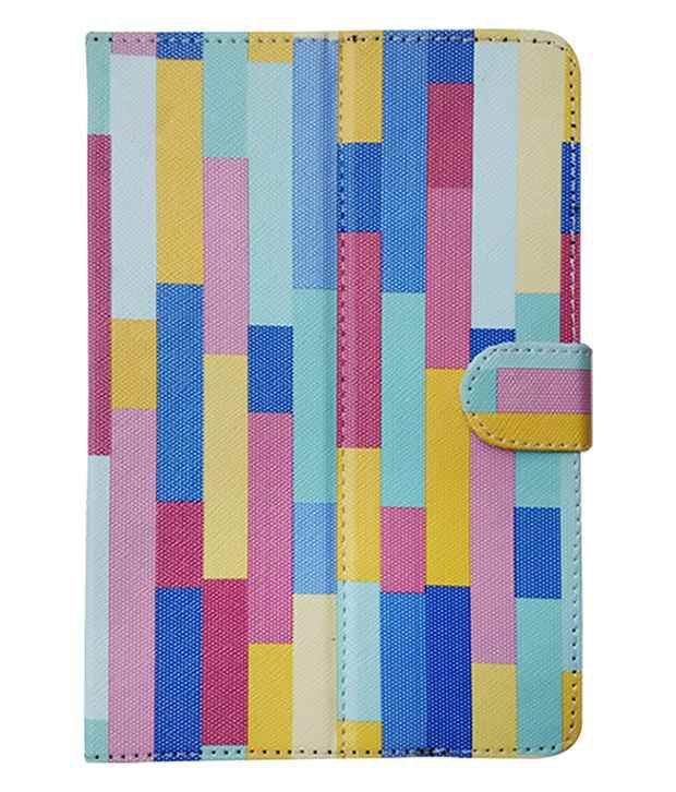 Fastway Flip Cover For Dell Venue 7 3740-Multicolor