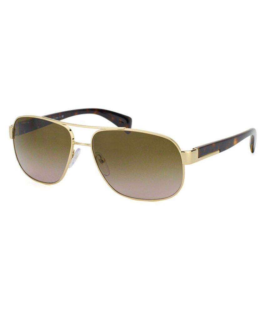 1989e7134d0a Prada Golden Frame Aviator Sunglasses - Buy Prada Golden Frame Aviator  Sunglasses Online at Low Price - Snapdeal