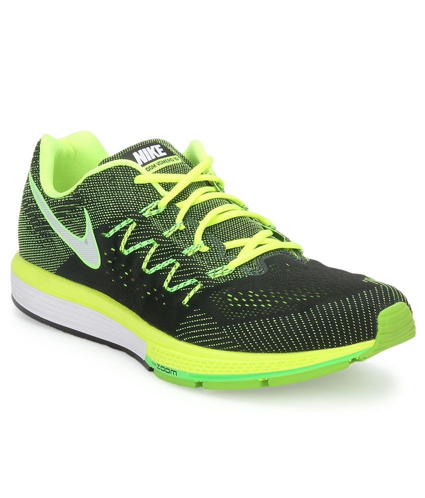 acb6ce5ca01c Nike Air Zoom Vomero 10 Green Sports Shoes - Buy Nike Air Zoom Vomero 10  Green Sports Shoes Online at Best Prices in India on Snapdeal