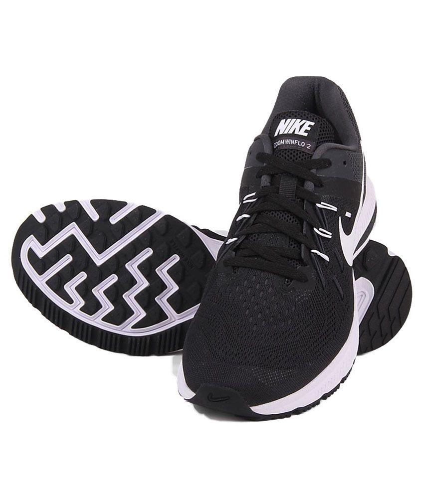 aed9cf5c327ea Nike Zoom Winflo 2 Black Sports Shoes .
