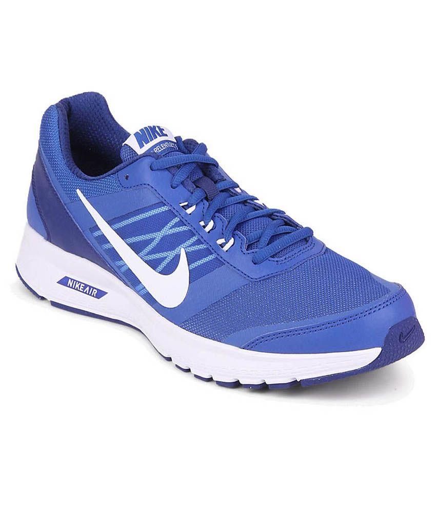 Nike Blue Sports Shoes