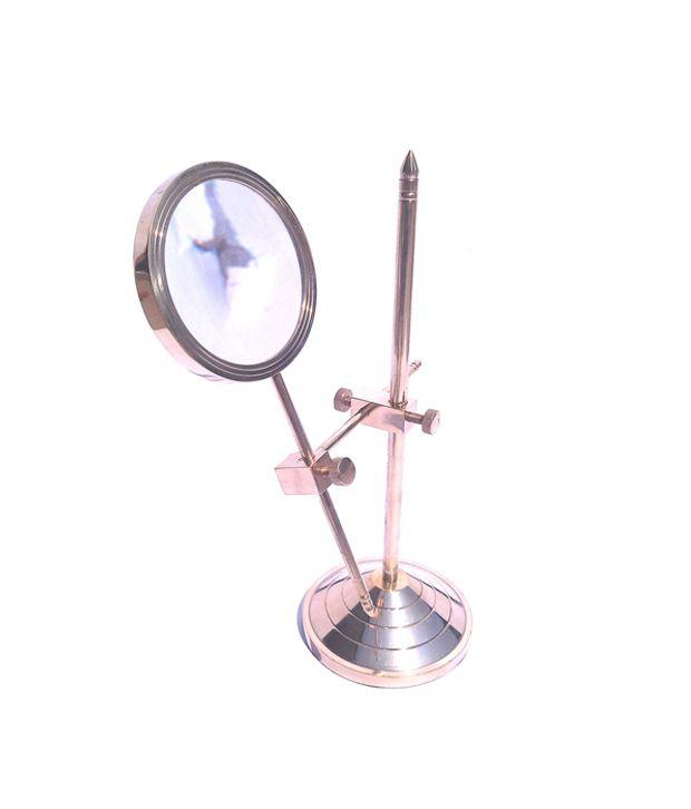 TAJ Ring Enterprises Brass Magnifying Glass - Brown