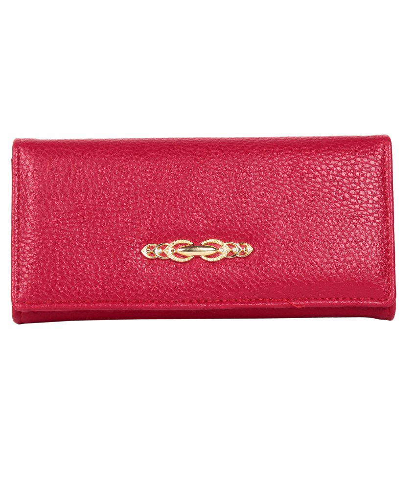 Trendberry Pink Non Leather Regular Wallet