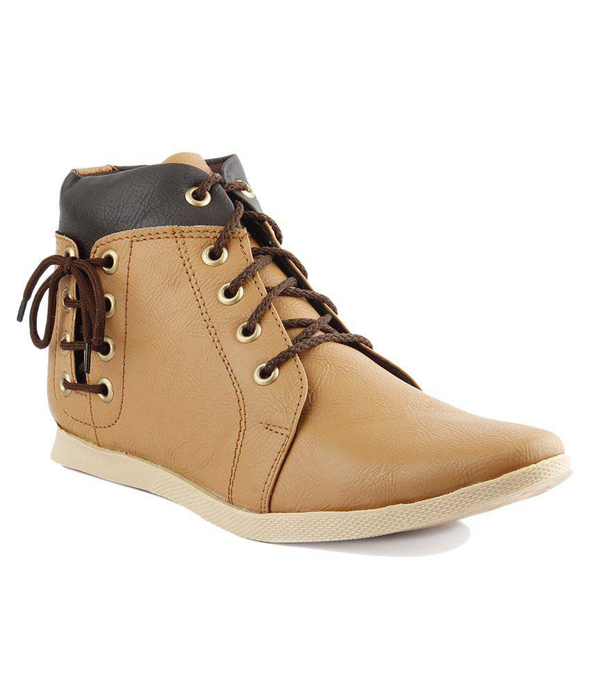 Dox Tan & Black Boots