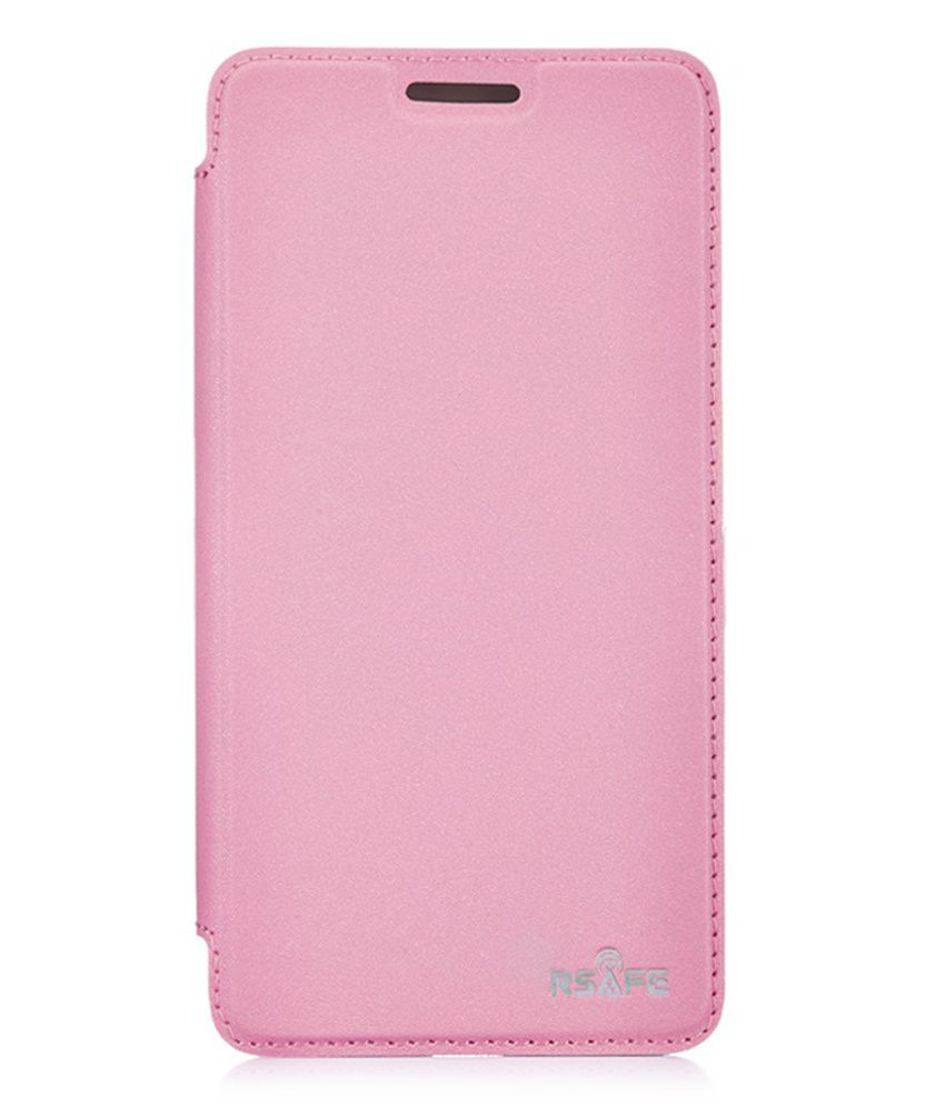 Rsafe Flip Cover For Others -pink