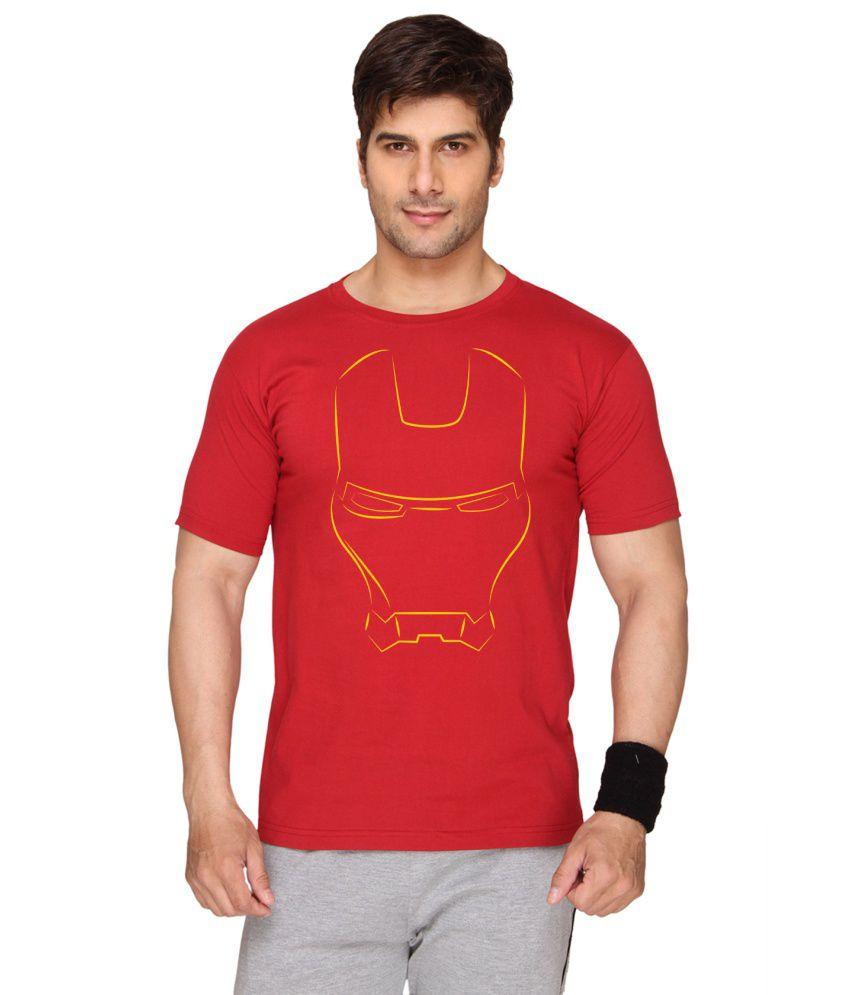 Sayitloud Red Cotton T-Shirt