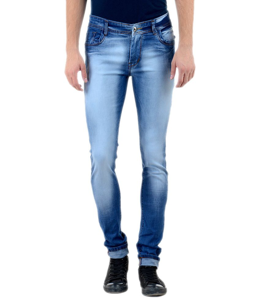 Vrgin Blue Cotton Jeans