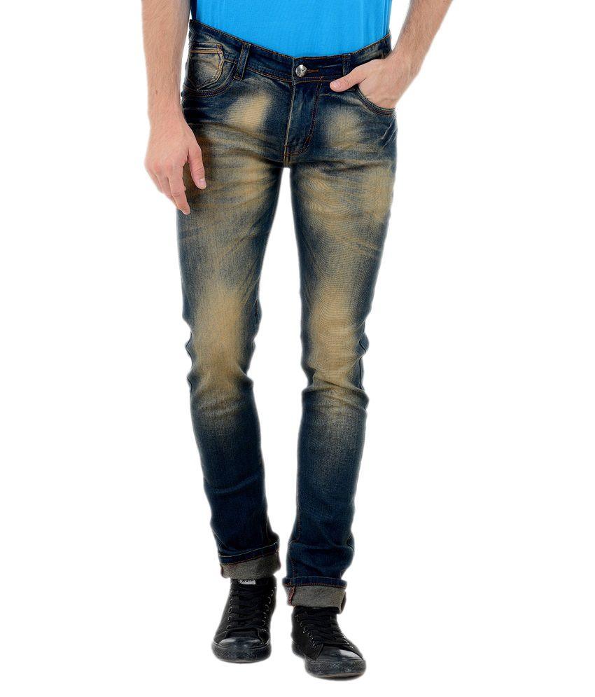 Vrgin Blue Cotton Jeans