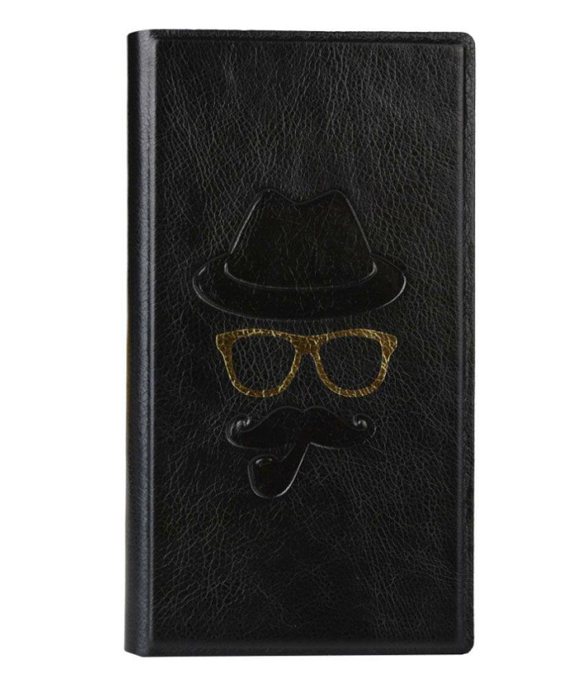 Jo Jo Flip Cover For Samsung Galaxy Note III - Black