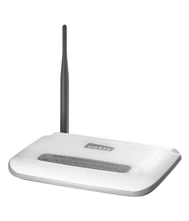 Netis DL4311 150Mbps Wireless N ADSL2+ Modem Router