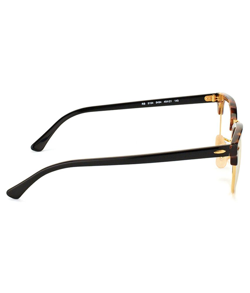 ray ban golden eye glasses frame
