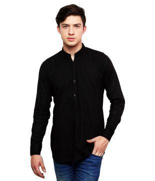 Dennis Lingo Black Casual Shirt - Buy