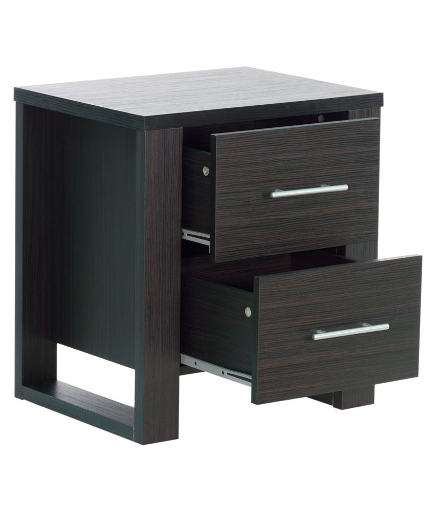Havana Bed Side Table with 2 Drawers