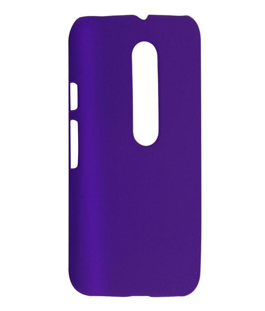 Wow Imagine Back Cover For Motorola Moto G3   Purple