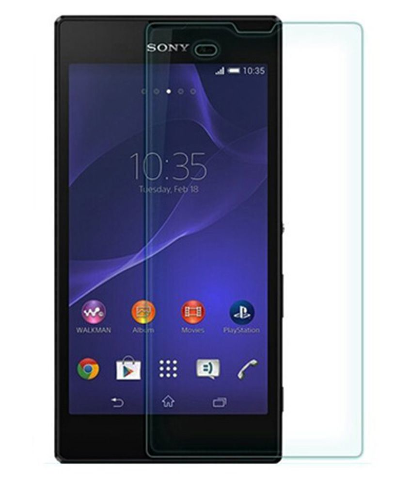 Sony Xperia T3 Tempered Glass Screen Guard by cellphonez