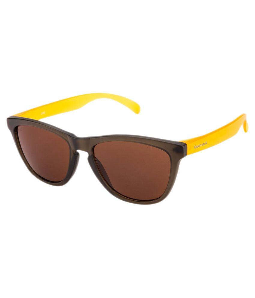 766326dc65e Fastrack Yellow Wayfarer Sunglasses. Fastrack Pc002br7 Yellow Black ...