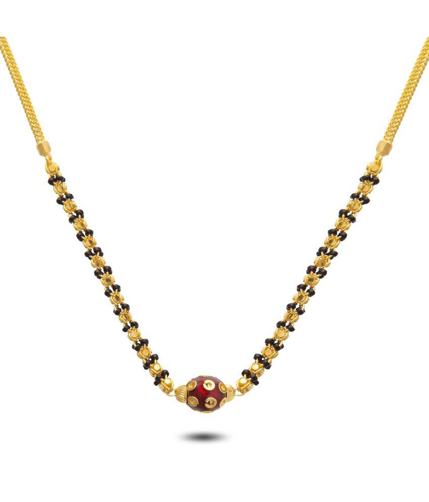 P.N.Gadgil Jewellers 22kt Gold Mangalsutra