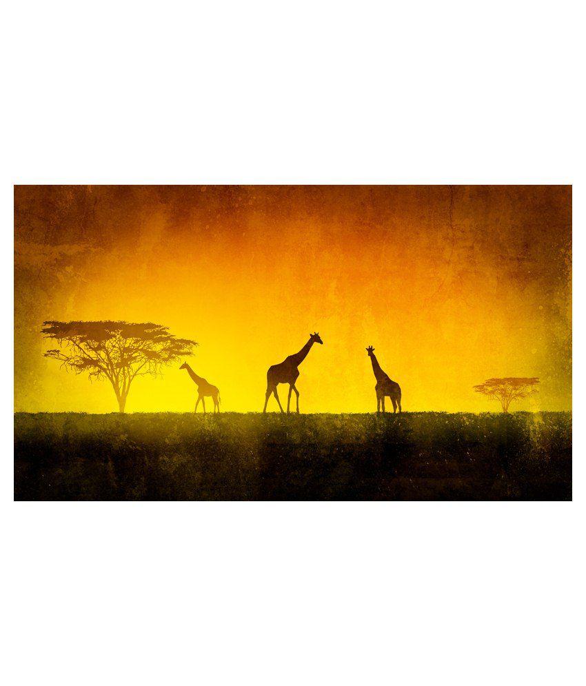 Deepika Creation Acrylic Painting With Frame Set Of 3