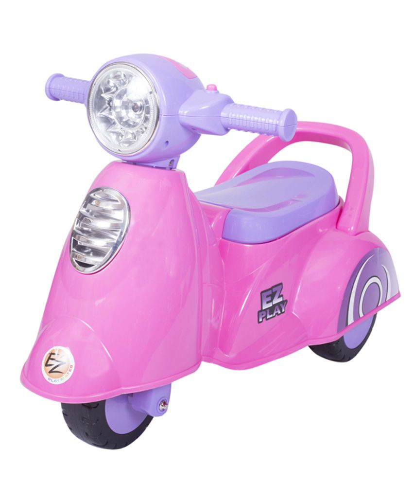Ez Playmates Baby Ride On Italian Scooter Pink 62 5 X 33