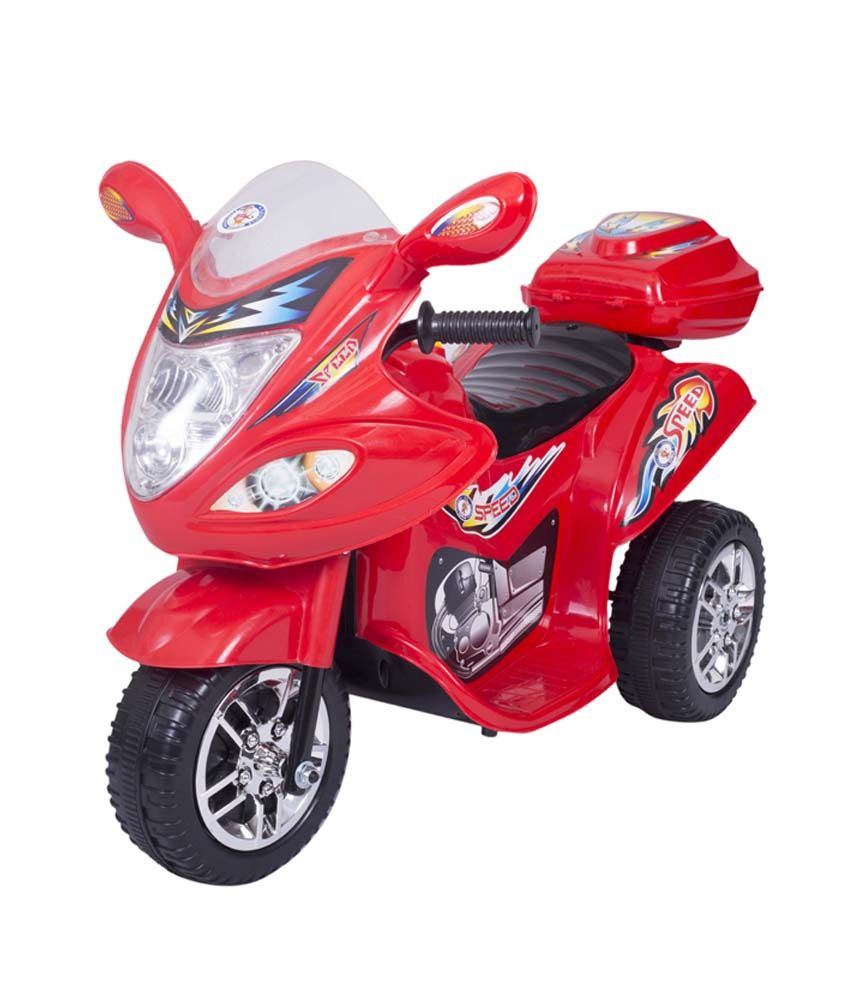 Hlx Nmc Battery Operated Fun Bike Red Size 80x41 5x51