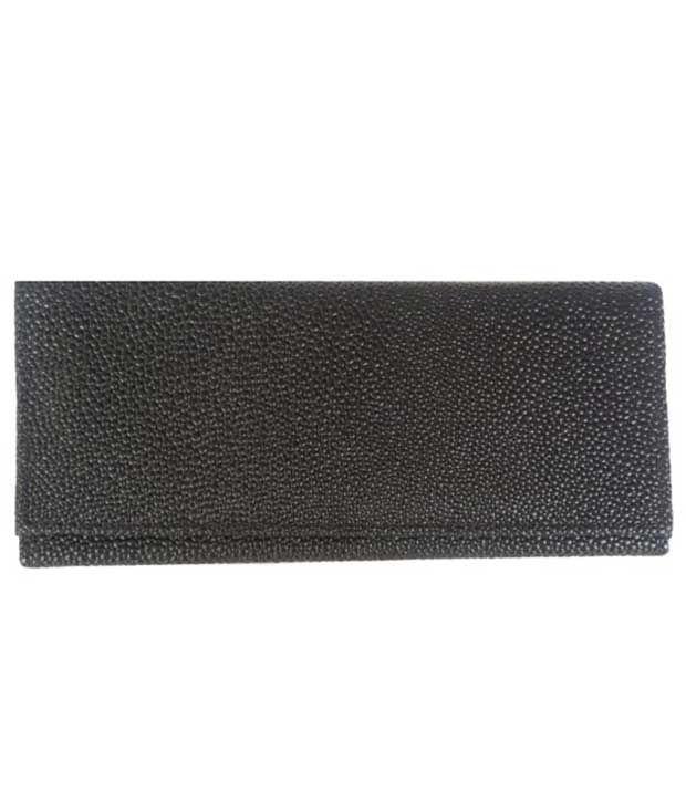 Viva Fashions Black Casual Wallet