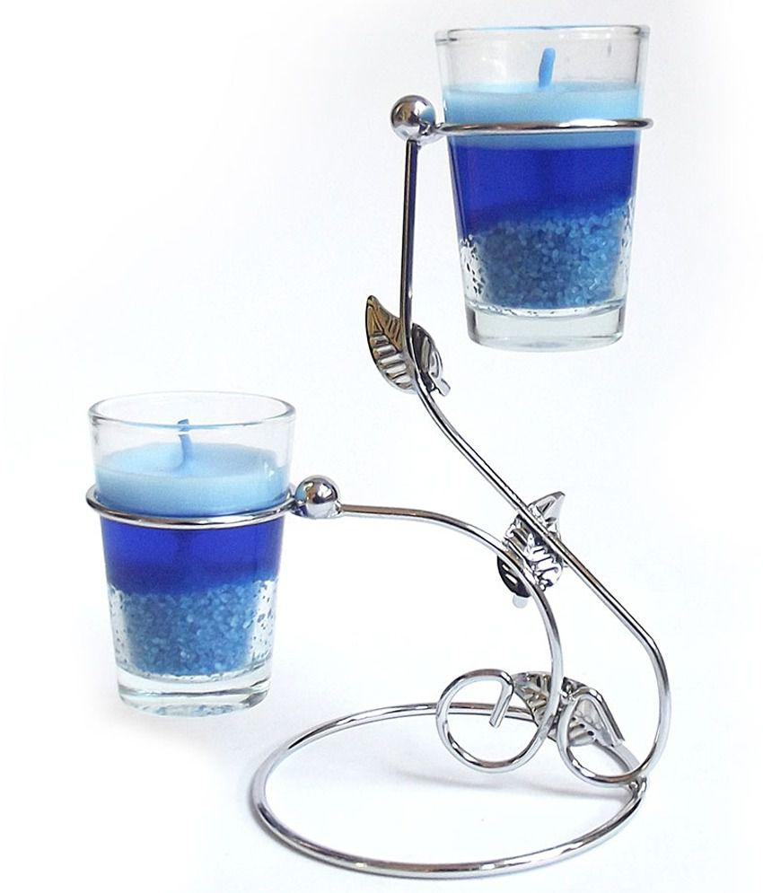 Zarsa Glossy Garden Glass Candle
