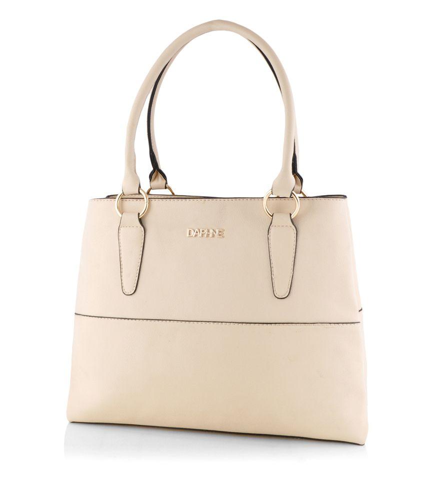 Daphne White Shoulder Bag